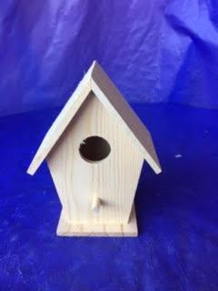 Mixed Media Kit - Small Bird House