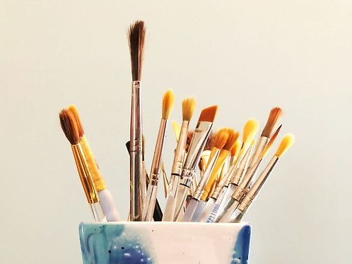 Paint Brushes (3 each)