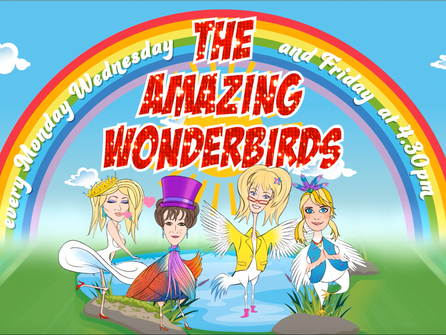 Wonderbirds are Go !