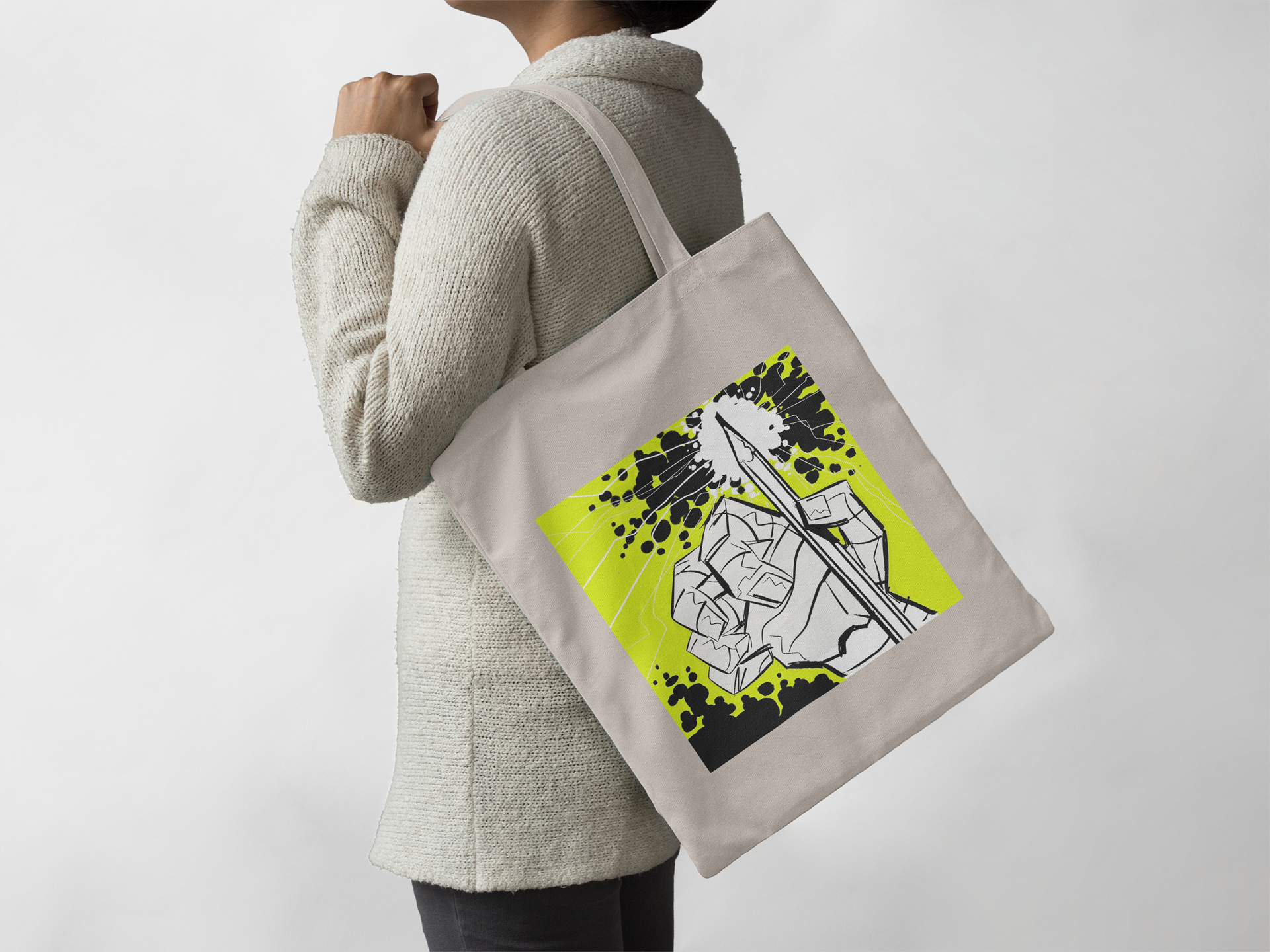 """Jack Kirby"" Design Bag"