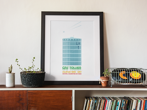 """Gas Tower"""
