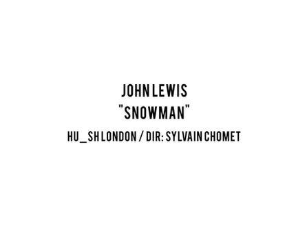 "John Lewis Xmas 2020 - ""Snowman"""