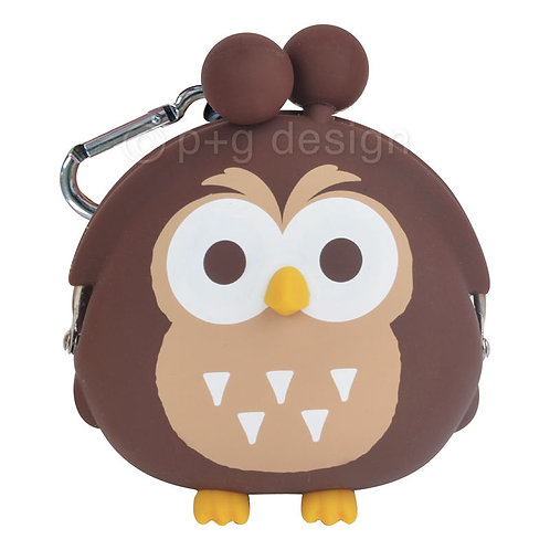 3D POCHI Owl Brown