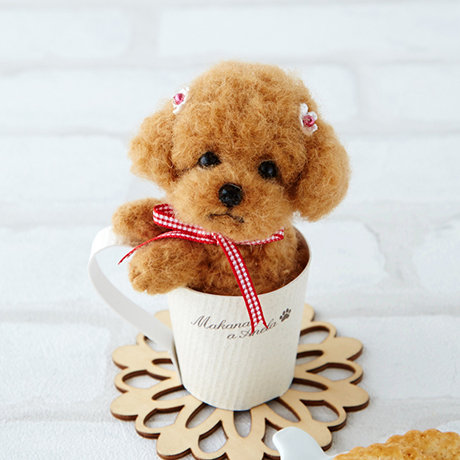 Poodle in a cup 441-438