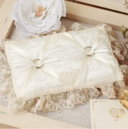 Wedding lace ring pillow 431-143