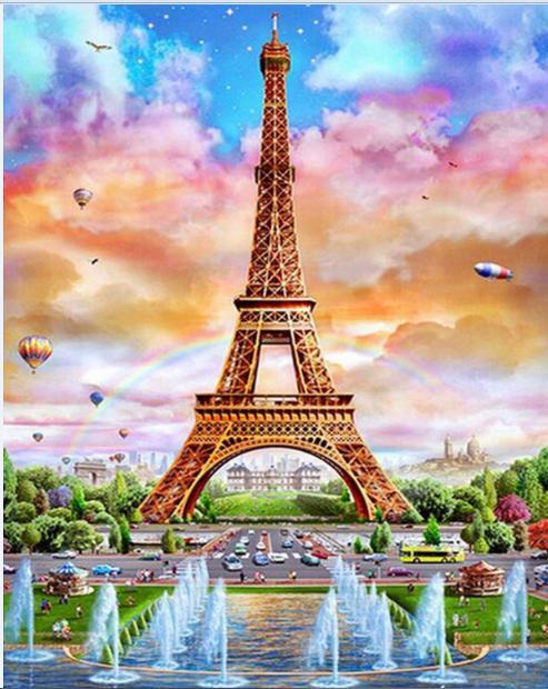 DYS085 Eiffel Sunset