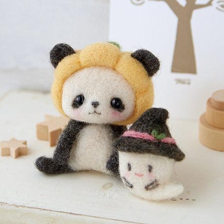Pumpkin Panda & Ghost 441-430