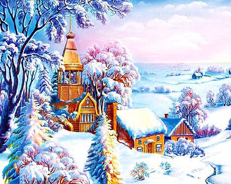 M813 Snowy Town