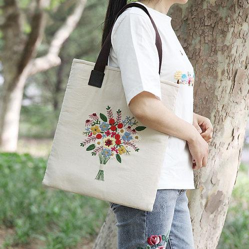 E03-KB018 Tote bag white