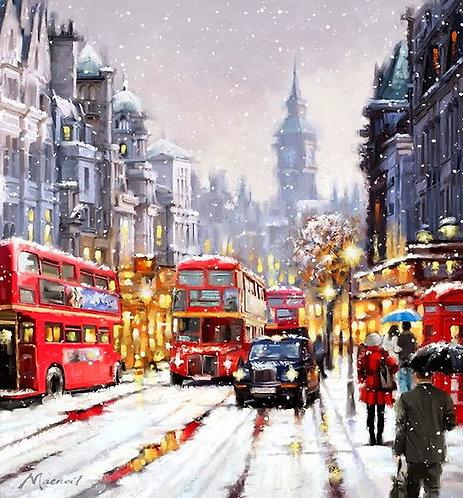 DYS053 Snowy London