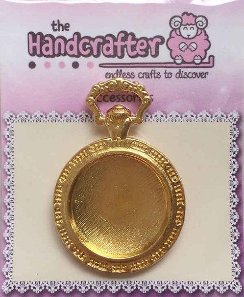 Alice clock gold U04-037