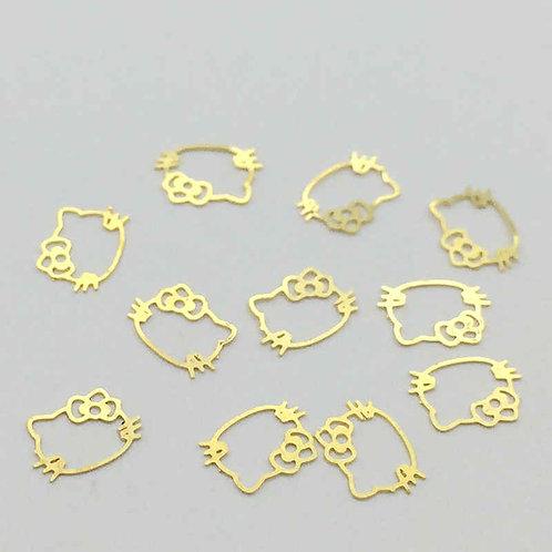 Gold confetti 71-85