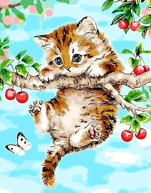 M706 Cat on Tree