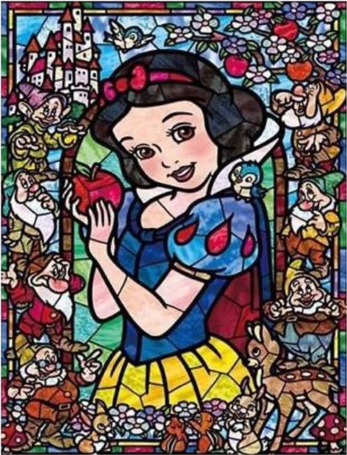 DYS015 Snow White Glassart
