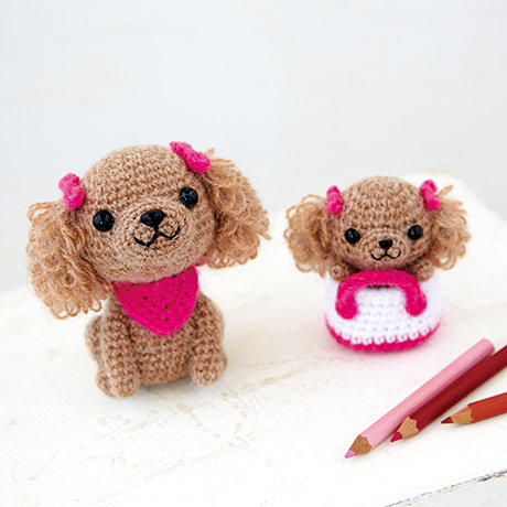 DIY kit Mom child poodle 301-515