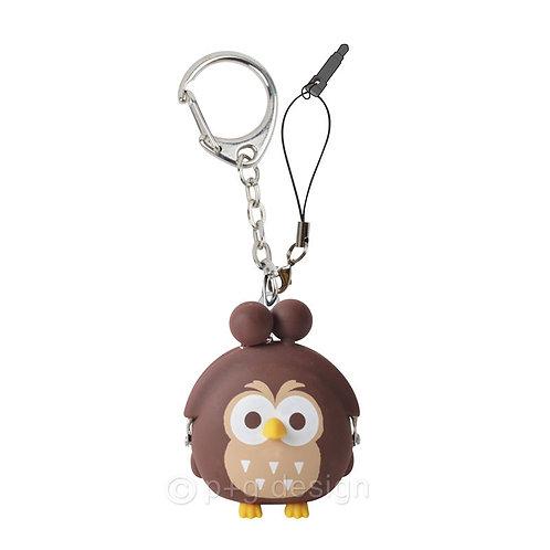 3D POCHI-Bit Owl Brown