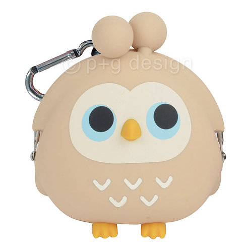 3D POCHI Owl Beige