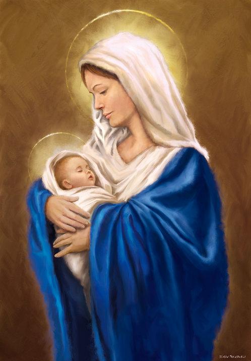 DYS077 Mary Baby Jesus