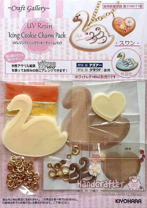 Icing cookie swan CRP65
