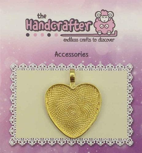 Heart pendant U04-029