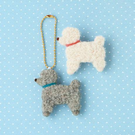 Poodle charm & brooch 441-376