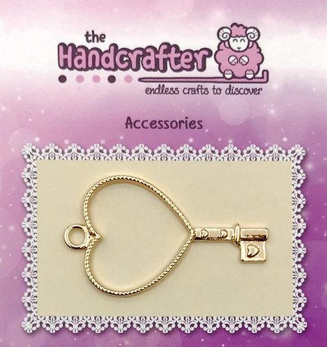 Key heart U04-038