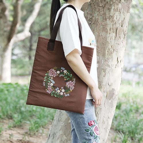 E03-KB020 Tote bag brown