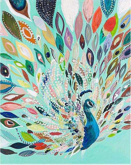 DYS007 Peacock art