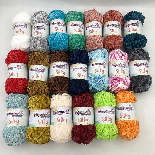 Silky yarn 1