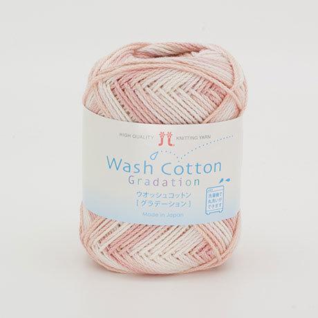 Wash cotton gradation