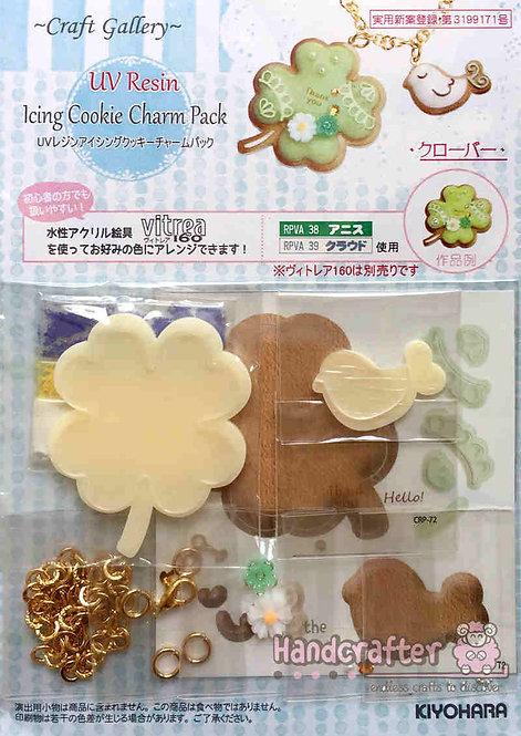 Icing cookie clover CRP72