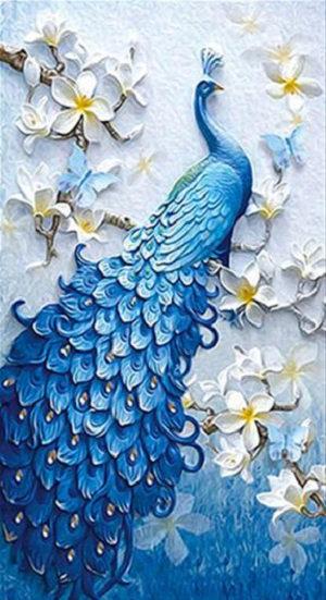 M013 Blue Peacock