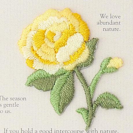 Flower yellow rose 457-975