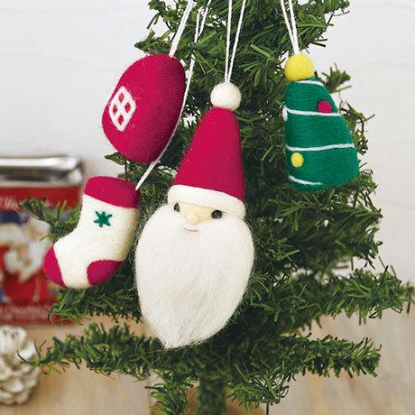 Ornament of Santa and Christmas 441-401