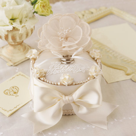 Bouquet lace ring box 431-145