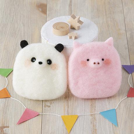 Squeaky panda pig 441-507