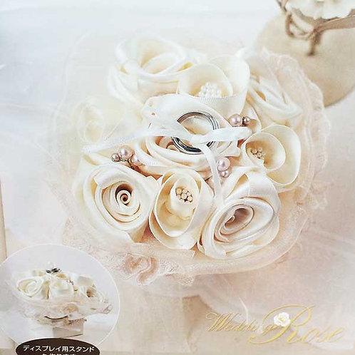 Rose bouquet ring pillow 431-127