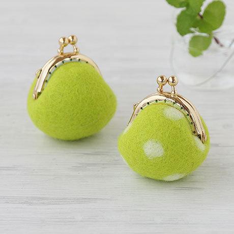 Mini green pouch 441-393