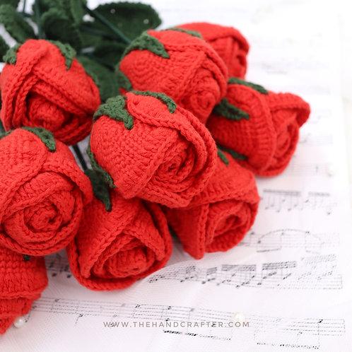 DIY La vie en rose red