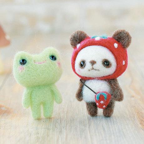Strawberry panda & frog 441-308