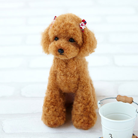Real look poodle 441-441