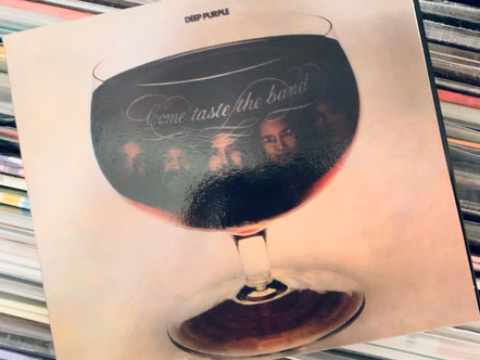 Selections from my Record Collection : Deep Purple - Come Taste the Band (1975)