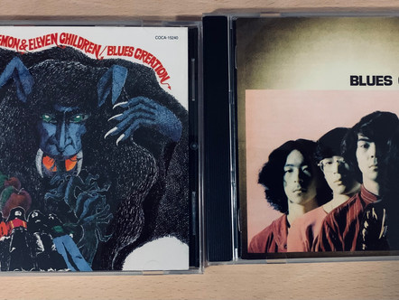 Selections from my Record Collection : Blues Creation : Blues Creation/Demon & Eleven Children