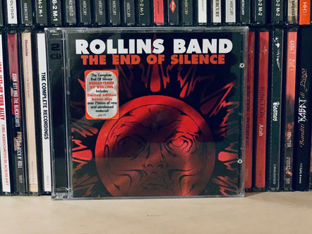 Selections from my Record Collection : Rollins Band - The End of Silence (1992)