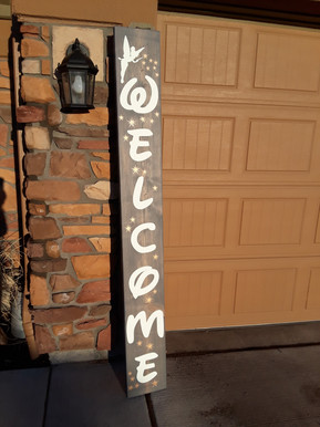 PORCH SIGN - TINKERBELL