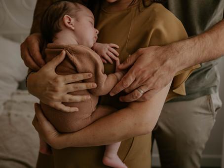 Séance naissance du petit Antoine