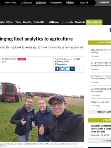 Bringing fleet analytics to agriculture | Farmtario