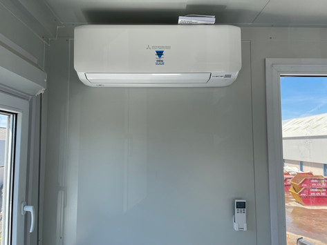 Cheadle Skips - Wall Unit Air conditioning