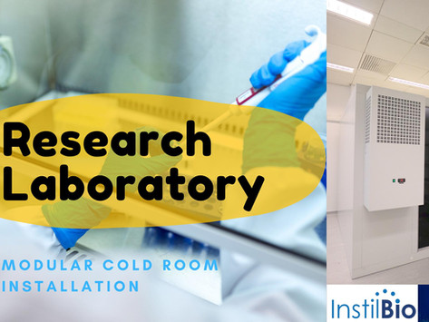 Research Laboratory Cold Room