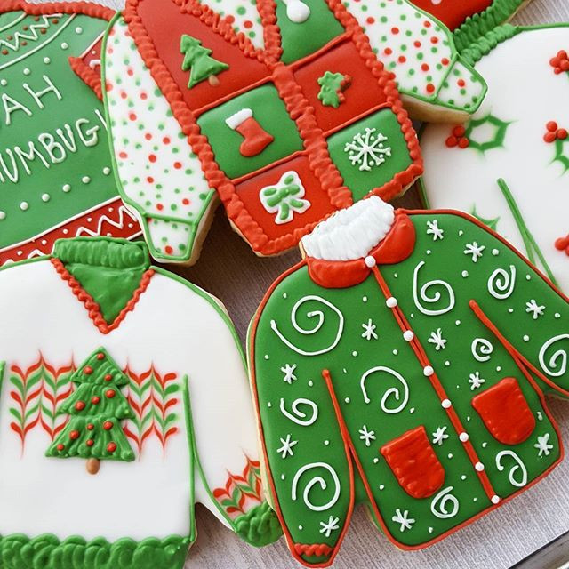 Ugly Sweater Cookie Class (21 and up)